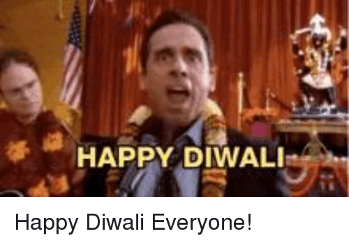 The Office, Happy, and Diwali: HAPPY DIWALI