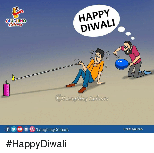 Happy, Indianpeoplefacebook, and Diwali: HAPPY  DIWALI  LAUGHING  CLauahina  Colours  fD /LaughingColours  Utkal Gaurab #HappyDiwali