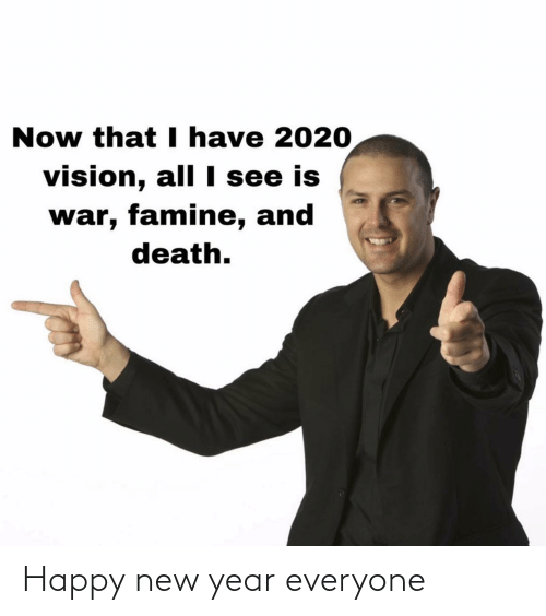 New Year's: Happy new year everyone
