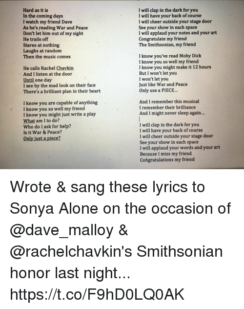 Lyrics from the grave he will come songs about from the ...