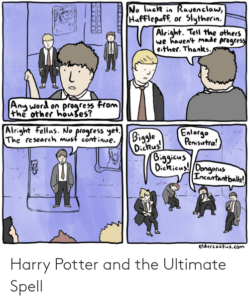 potter: Harry Potter and the Ultimate Spell