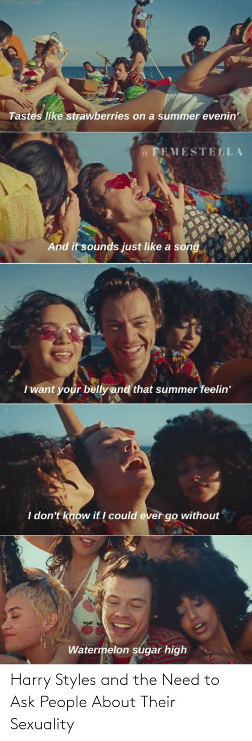 ask: Harry Styles and the Need to Ask People About Their Sexuality