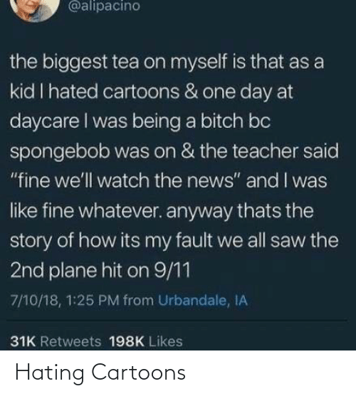 Hating: Hating Cartoons