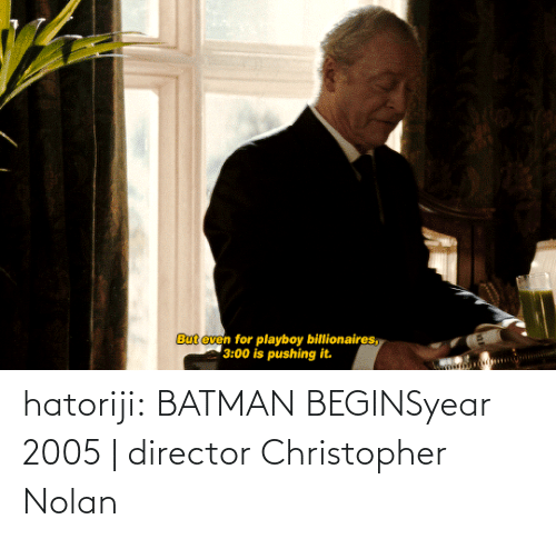 Batman: hatoriji:  BATMAN BEGINSyear 2005 | director Christopher Nolan