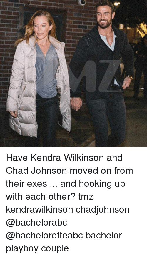 Bachelor: Have Kendra Wilkinson and Chad Johnson moved on from their exes ... and hooking up with each other? tmz kendrawilkinson chadjohnson @bachelorabc @bacheloretteabc bachelor playboy couple