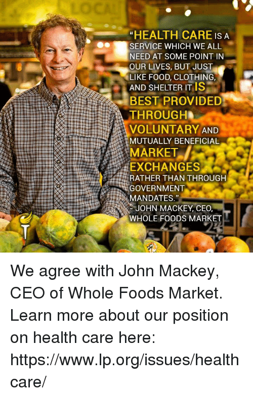 Whole Foods Market Exchanges