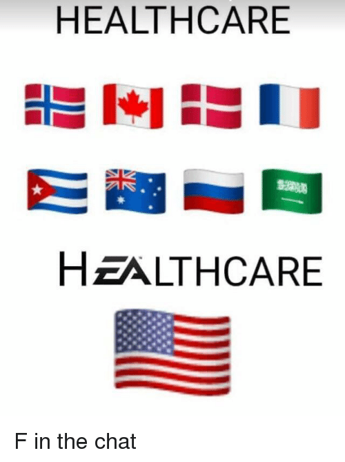 Chat, Healthcare, and The: HEALTHCARE  HZALTHCARE F in the chat