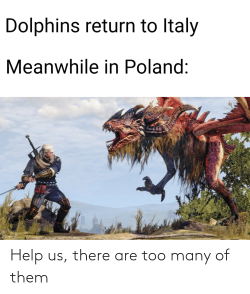 Help Us: Help us, there are too many of them