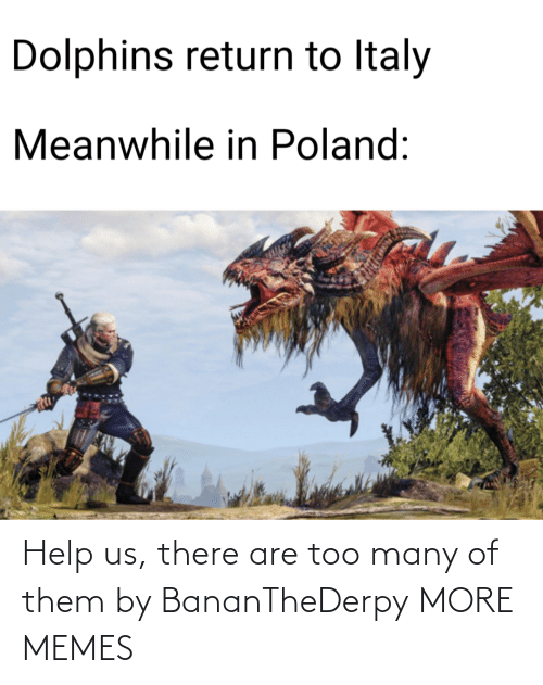 Help Us: Help us, there are too many of them by BananTheDerpy MORE MEMES