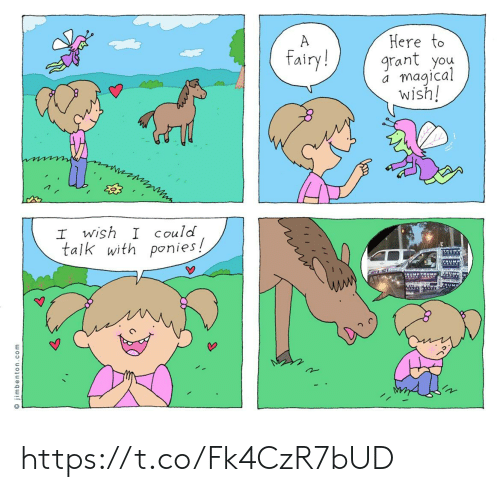 Trump, Com, and Rum: Here to  grant you  magical  wish!  A  fairy!  I wish I Could  talk with ponies!  TRM  TRUMP TRUMP  RUM  O jimbenton.com https://t.co/Fk4CzR7bUD