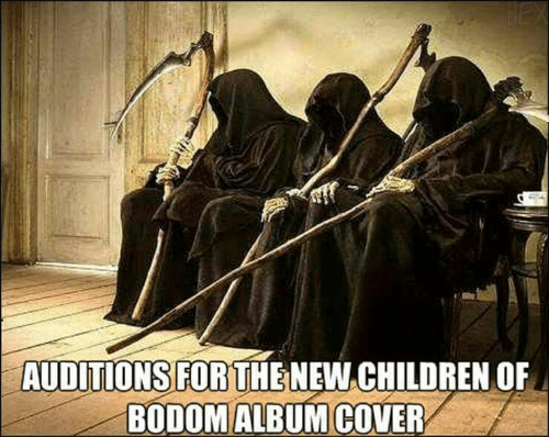 Cover: HEX  AUDITIONS FOR THENEW CHILDREN OF  BODOM ALBUM COVER