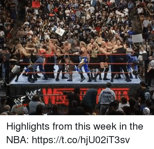 Nba, Sports, and This: Highlights from this week in the NBA: https://t.co/hjU02iT3sv