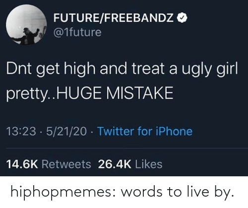 Live: hiphopmemes:  words to live by.