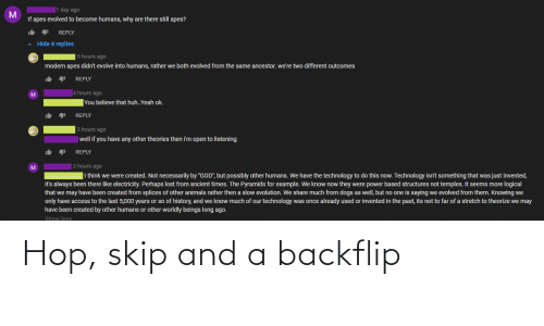 Skip: Hop, skip and a backflip