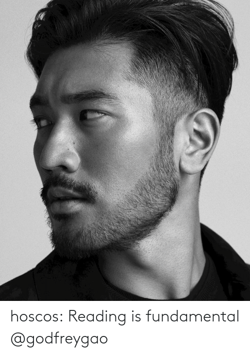 reading: hoscos: Reading is fundamental @godfreygao