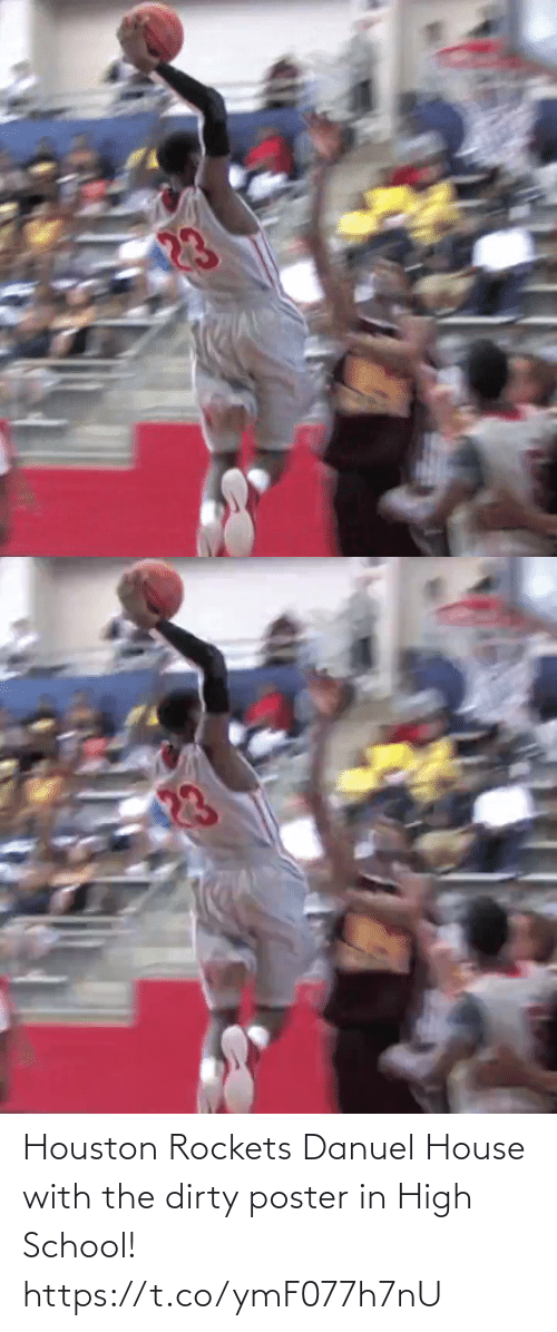 rockets: Houston Rockets Danuel House with the dirty poster in High School! https://t.co/ymF077h7nU