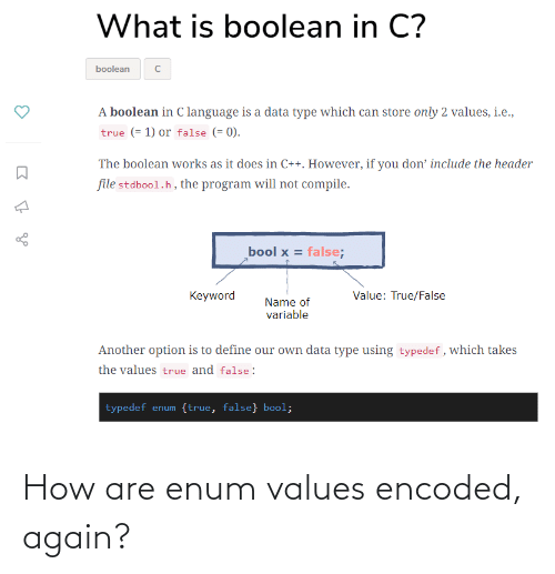 values: How are enum values encoded, again?