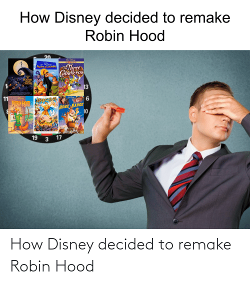 Hood: How Disney decided to remake Robin Hood