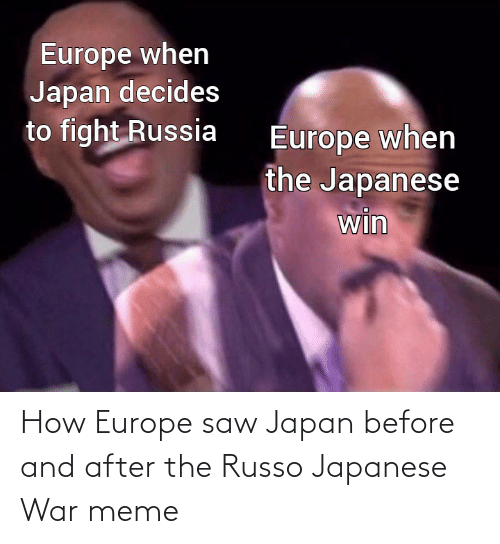 After The: How Europe saw Japan before and after the Russo Japanese War meme