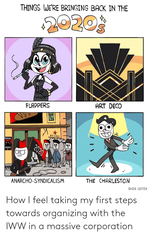 How I Feel: How I feel taking my first steps towards organizing with the IWW in a massive corporation