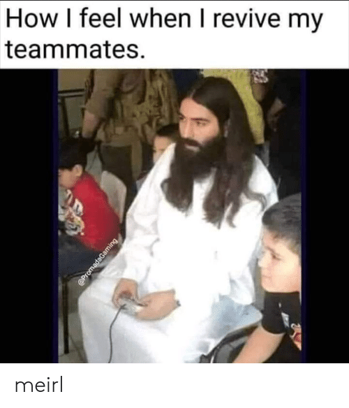 How I Feel: How I feel when I revive my  teammates  @PromadaGaming meirl