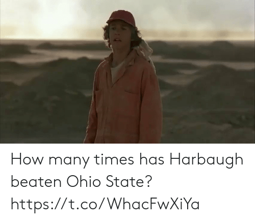 Football, How Many Times, and Nfl: How many times has Harbaugh beaten Ohio State? https://t.co/WhacFwXiYa