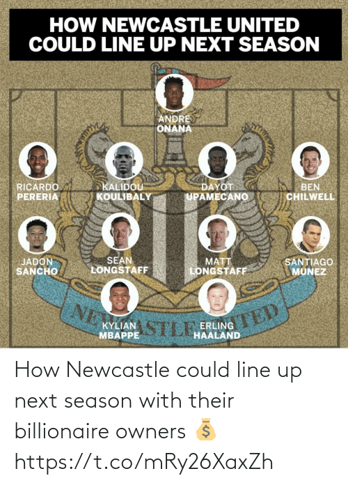 Owners: How Newcastle could line up next season with their billionaire owners 💰 https://t.co/mRy26XaxZh