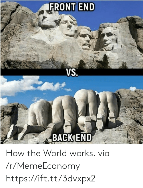 the world: How the World works. via /r/MemeEconomy https://ift.tt/3dvxpx2