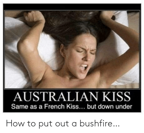 how: How to put out a bushfire…