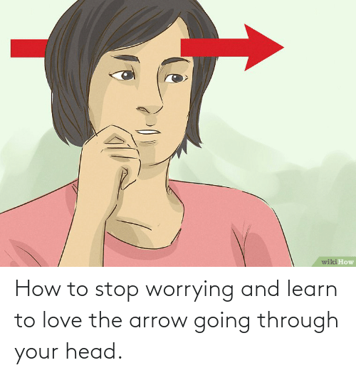 Arrow: How to stop worrying and learn to love the arrow going through your head.