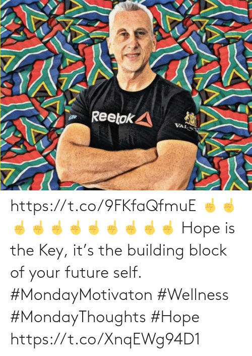 Wellness: https://t.co/9FKfaQfmuE   ☝️☝️☝️☝️☝️☝️☝️☝️☝️☝️☝️ Hope is the Key, it's the building block of your future self. #MondayMotivaton #Wellness  #MondayThoughts #Hope https://t.co/XnqEWg94D1
