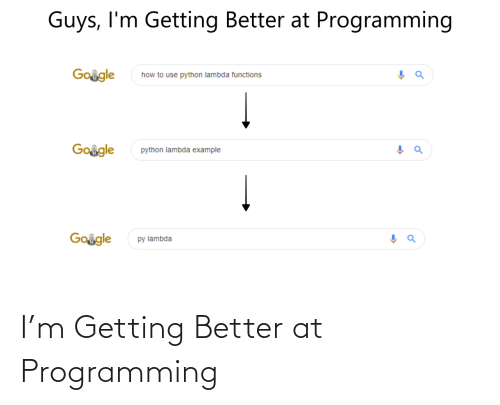M: I'm Getting Better at Programming