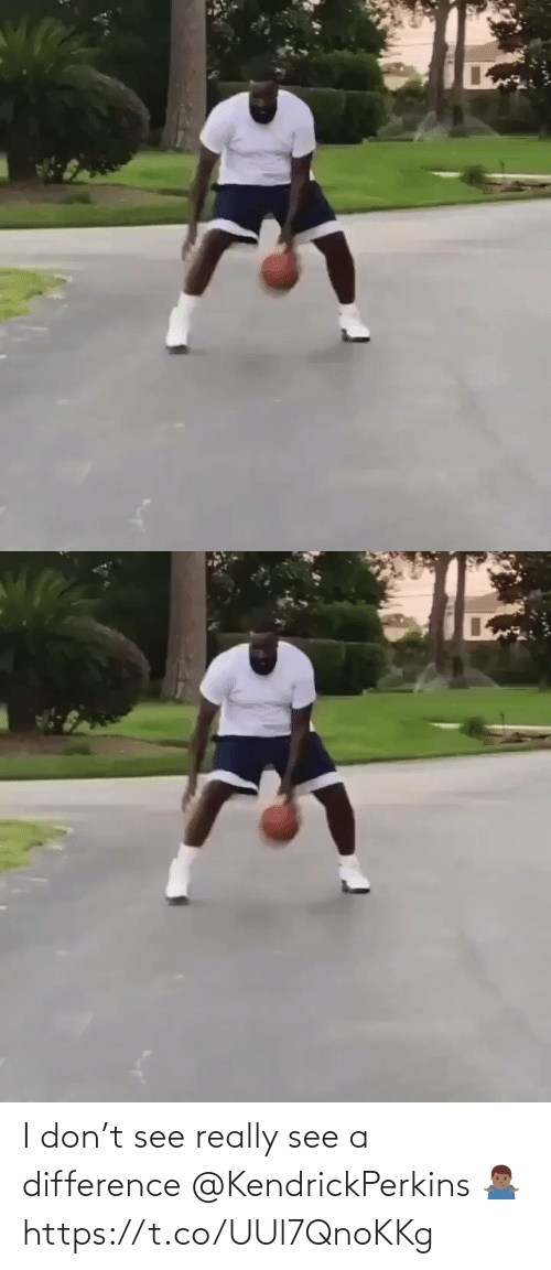 don: I don't see really see a difference @KendrickPerkins 🤷🏾♂️ https://t.co/UUl7QnoKKg