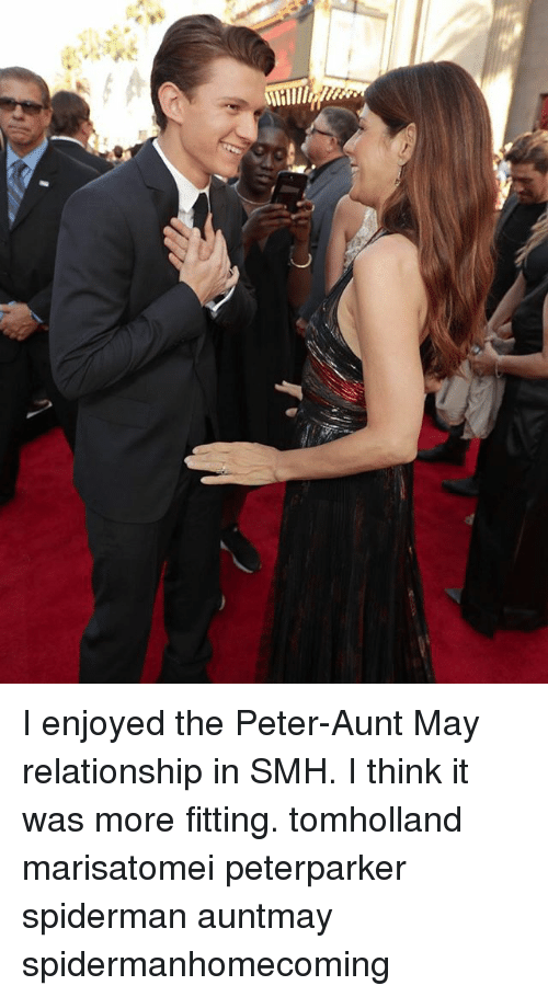 I Enjoyed The Peter Aunt May Relationship In Smh I Think It