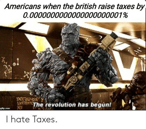 hate: I hate Taxes.