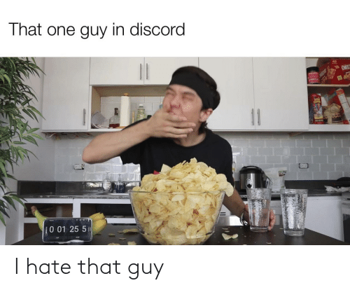 that guy: I hate that guy