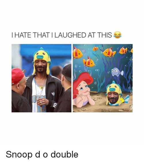 Ironic, Snoop, and Double: I HATE THAT I LAUGHED AT THIS Snoop d o double
