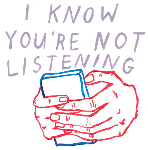 I Know, Youre, and  Know: I KNOW  YOU'RE NOT  LISTENING