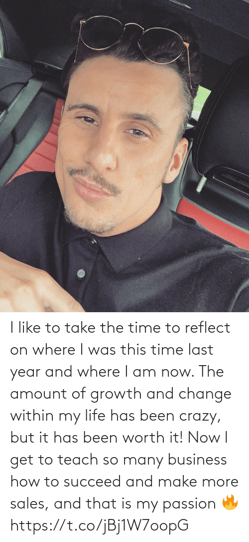 i like: I like to take the time to reflect on where I was this time last year and where I am now. The amount of growth and change within my life has been crazy, but it has been worth it!   Now I get to teach so many business how to succeed and make more sales, and that is my passion 🔥 https://t.co/jBj1W7oopG