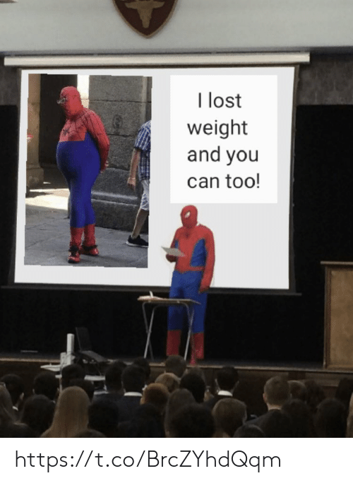 Memes, Lost, and 🤖: I lost  weight  and you  can too! https://t.co/BrcZYhdQqm