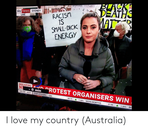 country: I love my country (Australia)