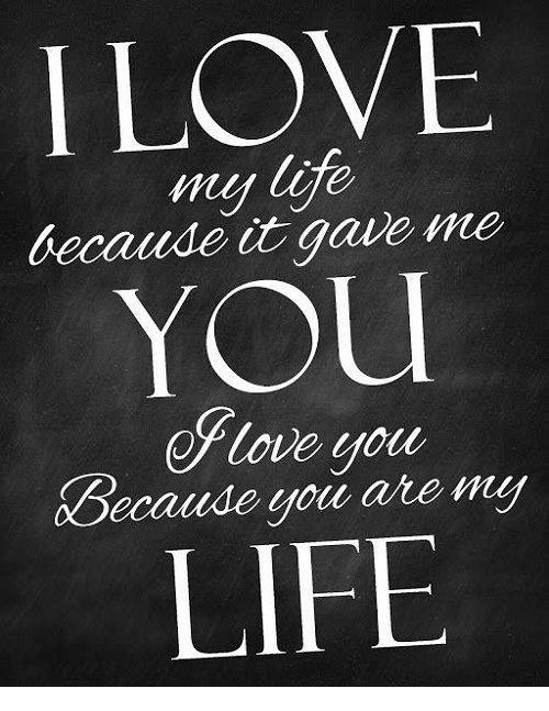 I Love My Decaude Gave Me You Oflove Your Xdecaude You Are My Life