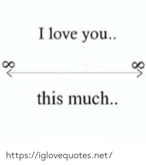 Love, I Love You, and Net: I love you.  this much.. https://iglovequotes.net/
