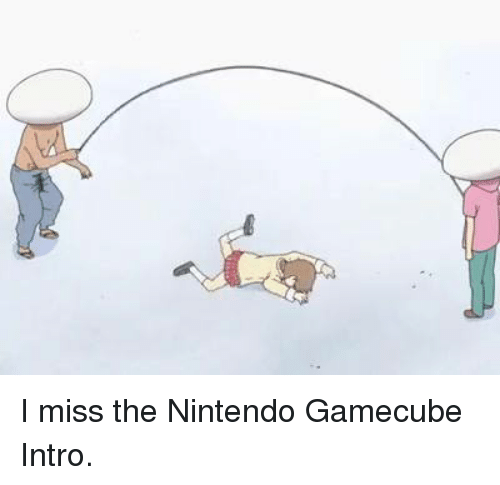 Dank, Nintendo, and 🤖: I miss the Nintendo Gamecube Intro.