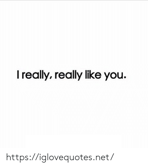 Net, You, and Href: I really, really like you. https://iglovequotes.net/