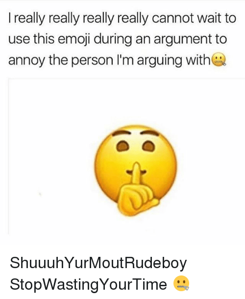 really-really-really: I really really really really cannot wait to  use this emoji during an argument to  annoy the person I'm arguing with ShuuuhYurMoutRudeboy StopWastingYourTime 🤐