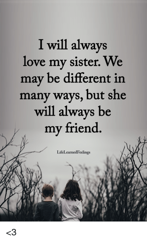 25 Best Memes About Love My Sister Love My Sister Memes