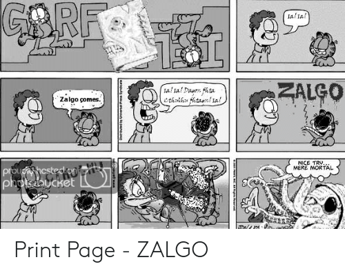 25 Best Memes About Who Is Zalgo Who Is Zalgo Memes