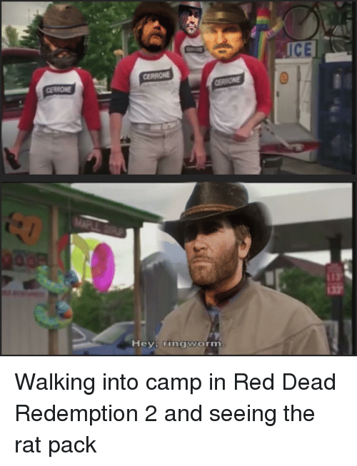 Reddit, Red Dead Redemption, and Red Dead: ICE  CERRONE  Hey ringworm