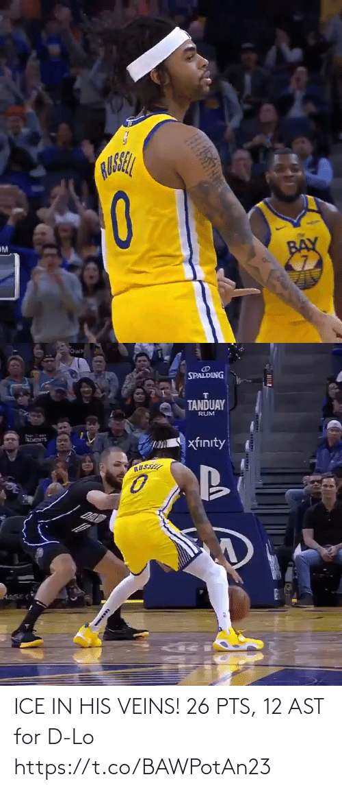 pts: ICE IN HIS VEINS!   26 PTS, 12 AST for D-Lo  https://t.co/BAWPotAn23